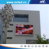 Buon schermo di visualizzazione esterno del LED di colore completo di qualità P10mm (TUFFO 5454)