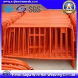 Rete fissa provvisoria rivestita saldata galvanizzata della polvere provvisoria della rete fissa della rete metallica