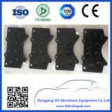 Пусковые площадки тормоза Тойота малошумные Semi металлические покрашенные пластичные автоматические (D1303)