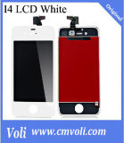 Мобильный телефон LCD для белизны экрана iPhone 4S LCD