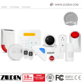 2016 Zuden accueil le plus récent système d'alarme avec WiFi+réseau GSM