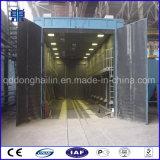 中国のサンドブラスト部屋のクリーニング装置