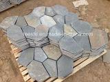 기술설계와 벽 훈장을%s 최신 노란 자연적인 슬레이트 돌