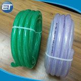 Mangueira de plástico reforçado com fibra transparente Non-Toxic / Tubo flexível de tubulação trançada com RoHS