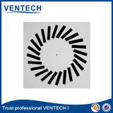Weiße Farben-runder Luft-Strudel-Diffuser (Zerstäuber) für Ventilations-Gebrauch