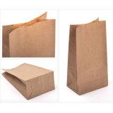 Bolso del alimento de los favores de partido de la porción del regalo del bolso del arte de las bolsas de papel de Kraft