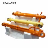 Os manipuladores hidráulicos cromaram o cilindro hidráulico da qualidade excelente