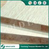 Núcleo de pilar mobiliário de primeira série do laminado de melamina Blockboard 1220x2440mm