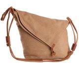Handbag Hot Sell FashionキャンバスPUの革女性ショルダー・バッグ(WDL0293)