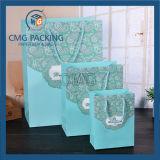Romantischer Tiffany-blauer Hochzeits-Verpackungs-Papierbeutel (CMG-MAY-056)