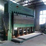 Máquina caliente de la prensa de la laminación de múltiples capas hidráulica para las puertas