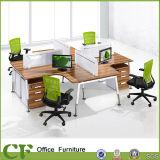 Стол персоны офиса 4 Desktop перегородки ткани самомоднейший для рабочего места штата