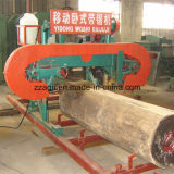 La bande en bois automatique horizontale d'engine électrique a vu la machine