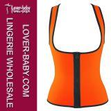 Тельняшка спорта способа Sweat женщин увеличивая термально (L42659-2)