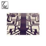 PVD Farben-überzogene dekorative MetallEdelstahl-Blätter