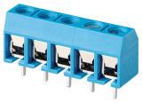 Bester verkaufenschaltkarte-Klemmenleiste-Verbinder mit dem 5.0mm Abstand (WJ306)