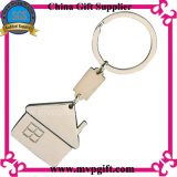 Metallschlüsselkette mit Haus-Schlüsselring-Geschenk