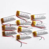 Батарея иона Lipo Li полимера лития изготовления 3.7V 180mAh 501235 Китая перезаряжаемые для наушника шлемофона камеры
