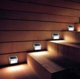 Luz solar de pared de luz solar LED para Iluminación de jardín