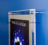 LED超明るい水晶メニューフレームの広告