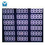 Commerce de gros haute luminosité Rouge Blanc Vert Bleu Orange Couleur 8,88 9/10 LED de grande taille signe du prix du gaz