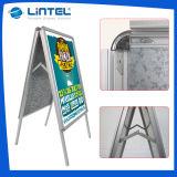 Cadres à cliquet à double côtés en aluminium à cadre double (LT-10)