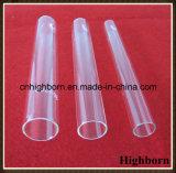 Laborfreies rundes unteres Quarz-Glas-Reagenzglas mit Korken