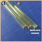 노란 석영 유리관 Laser 부속품 아름다움 기계 UV 필터 석영 관