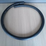 3/8 pulgadas de doble trenzado textil flexible de freno de aire de caucho para la línea de remolque