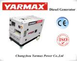 Génération diesel refroidi par eau Yarmax diesel portable générateur silencieuse avec ce 11kw 11kVA