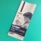 Zoll druckte Mittler-Gedichtete Plastikstützblech-Kaffee-Beutel