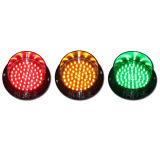 Lámpara de luz LED de tráfico Módulo personalizado luz verde 125mm