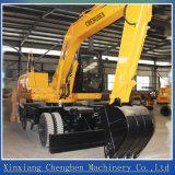 capienza della benna 06m3 un escavatore da 15 tonnellate con trasporto del blocco per grafici