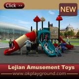 Le monde heureux badine la cour de jeu en plastique extérieure (X1508-2)