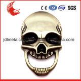 Cráneo abrebotellas Revestimiento del bronce de la antigüedad de Promoción