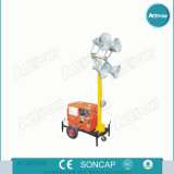 5kVA Portable Generator con Light Tower