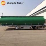 3 Essieu Chengda marque 12 roues avec un pneu de rechange remorque Réservoir à huile