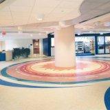 Einfacher Pflege-Vinylbodenbelag für öffentliche Orte