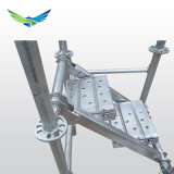Armatura di Layher dello standard internazionale/impalcatura di alluminio della serratura dell'anello