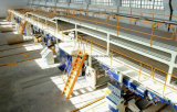 3 5 7 ply linha de produção de papelão ondulado de parede simples ou duplo Cartão máquina de fazer caixa de papelão Automática
