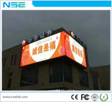 P10 exterior impermeable color LED Pantalla curvada