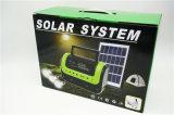 Lampada di campeggio solare radiofonica domestica solare esterna dell'indicatore luminoso di comitato FM con 3W indicatore luminoso solare 0603