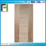 Haute qualité placage stratifié Okume/MDF moulé HDF porte feuille de la peau