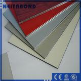 Panneau composite en aluminium brossé pour la construction de façade