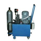 Centrale idroelettrica del totalizzatore dell'unità idraulica di forza idraulica