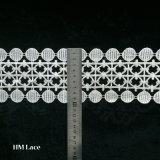 높은 제작된 공장 트리밍 레이스, 고품질 여성 의복을%s 백색 레이스 국경