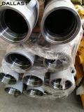 De aangemaakte Zuigerstang van het Roestvrij staal Voor de Hydraulische Delen van de Cilinder