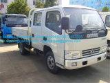 Rhd/LHD Dongfengの二重小屋の小型4X4貨物トラックの小型トラック