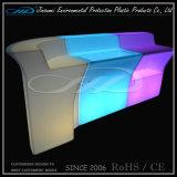 LED allumée commerciale comptoir de bar design / Hôtel meubles à LED