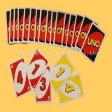 Impressão adulta do cartão de jogo dos cartões do jogo